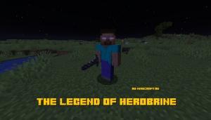 The Legend of Herobrine - херобрин в майнкрафте [1.16.5] [1.15.2] [1.14.4] [1.12.2]