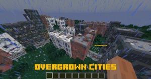 Overgrown Cities - измерение с заброшенными городами [1.15.2]