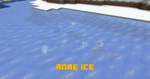 Rare Ice - лед с редкими предметами [1.16.1] [1.15.2] [1.14.4]
