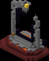 Разрушенный портал нижнего мира