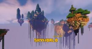 SkyWorld - генерация летающего мира [1.15.2]