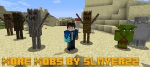 Additional Mobs (More Mobs by Slayerzz) - разные новые мобы [1.15.2] [1.14.4] [1.12.2]