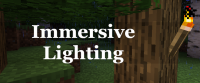 Immersive Lighting - не горящие факелы [1.15.2] [1.14.4]