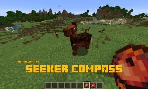 Seeker Compass - компас для поиска существ [1.16.1] [1.15.2]