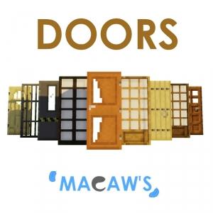 Macaw's Doors — новые двери для декора [1.16.5] [1.15.2] [1.14.4] [1.12.2]