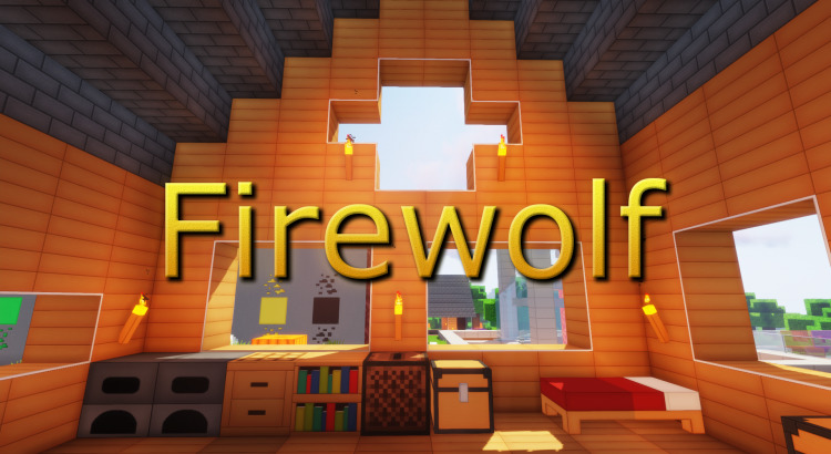 Firewolf HD 3D - гладкий ресурспак высокого качества [1.15.2] [1.14.4] [1.12.2] [1.11.2] [128x]