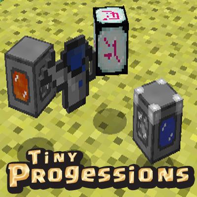 Tiny Progressions - разные полезные предметы [1.15.2] [1.12.2] [1.11.2] [1.10.2]