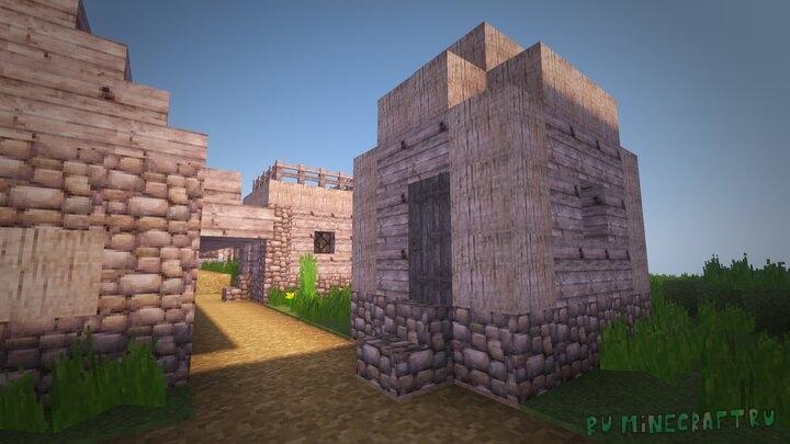 Dungeon Deads - средневековый ресурспак [1.15.2] [1.14.4] [32x]