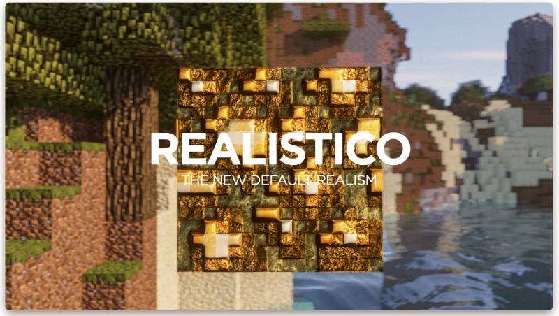 Realistico - реалистико, реалистичные текстуры [1.15.2] [1.14.4] [1.12.2] [1.11.2] [256-512x]