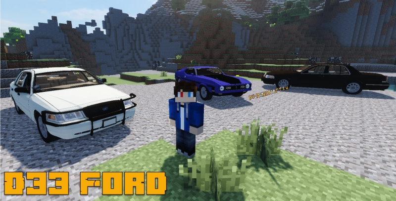 D33 Ford package - пак машин Форд [1.7.10]