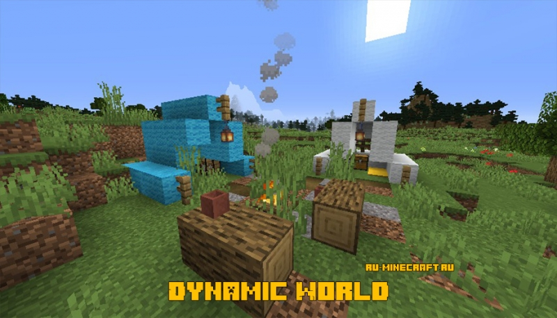 Dynamic World - динамичный мир [1.15.2]