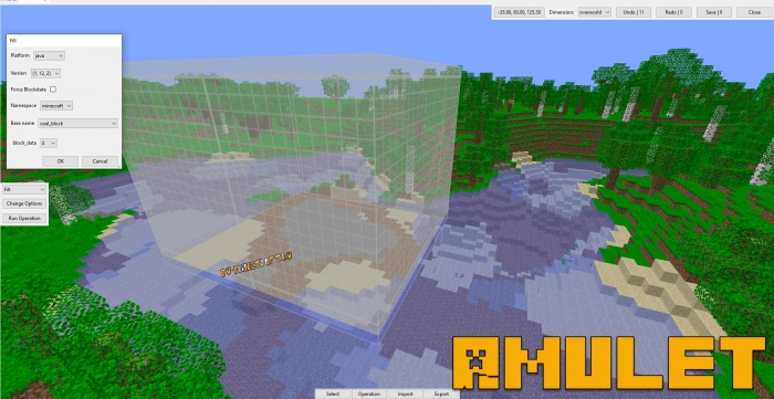 Amulet Map editor - редактор картмиров майнкрафт [1.16.3] [1.12.2+]