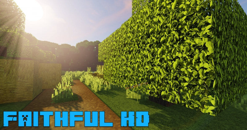 Faithful HD - фейтфулл в высоком разрешении [1.15.2] [1.12.2] [512x]