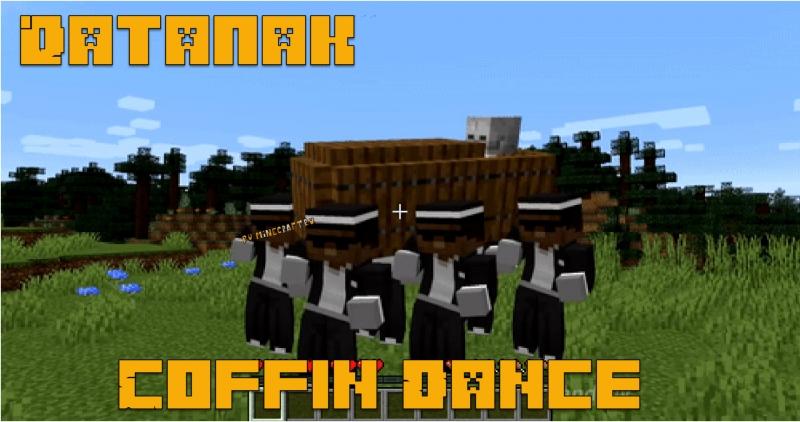 Coffin Dance datapack - датапак на танцы с гробом в майнкрафт [1.16] [1.15.2] [1.14.4]