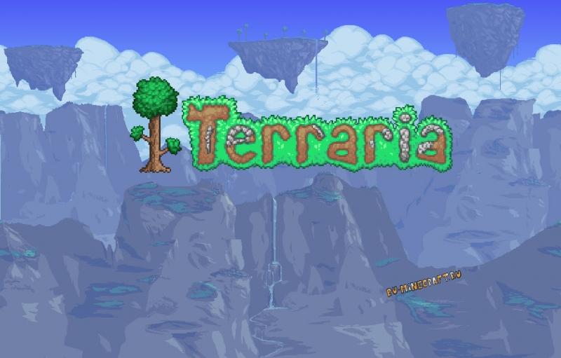 Terrapack3D - текстуры в стиле Террарии [1.17] [1.16.5] [1.15.2] [1.14.4] [16x]