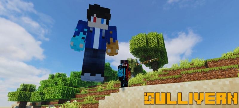 Gullivern - Гуливер мод, меняем размер игрока и мобов [1.15.2]