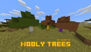 Wooly Trees - деревья с шерстью [1.16.1] [1.15.2]