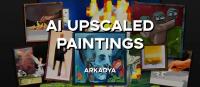 AI Upscaled Paintings - картины с увеличенным качеством [1.16] [1.15.2] [1.14.4] [256x]