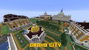 Grand City - город с достопримечательностями [1.16] [1.15.2] [1.14.4]