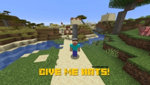 Give Me Hats! - шляпы для игрока [1.16.5] [1.15.2]