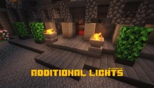 Additional Lights - новые блоки со светом [1.17.1] [1.16.5] [1.15.2] [1.14.4] [1.12.2]