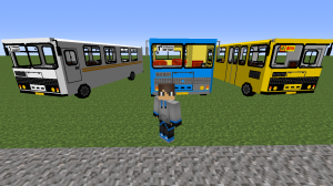 Bus PAZ pack - пак автобусов ПАЗ [1.7.10]