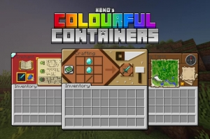 Colourful Containers GUI - новые интерфейсы для рабочих мест [1.15.2] [1.14.4]