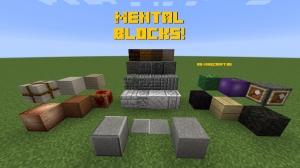 Mental Blocks! - блоки для декора [1.15.2]