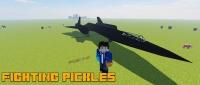 Fighting Pickles Vehicle Pack - самолет разведчик [1.12.2]