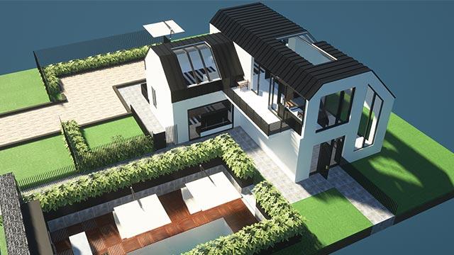 Супер реалистичные дома с декором - карты для текстурпака [1.16.5] [1.14.4] [1.12.2]