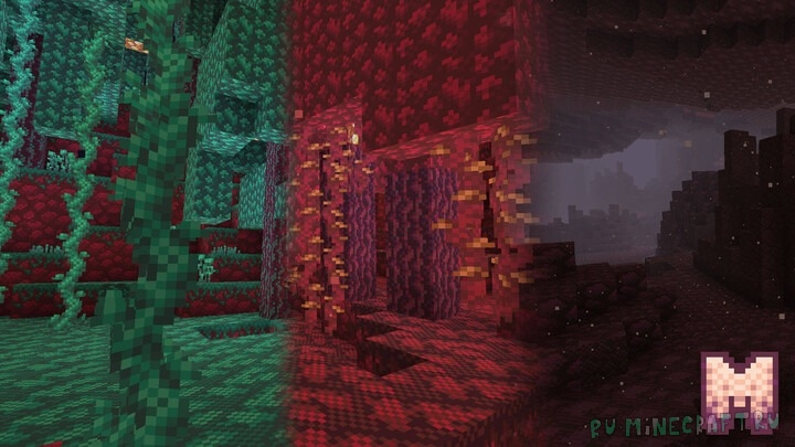 Monstrul — красивый пакет ресурсов [1.16.1] [1.15.2] [1.8.1] [16x]