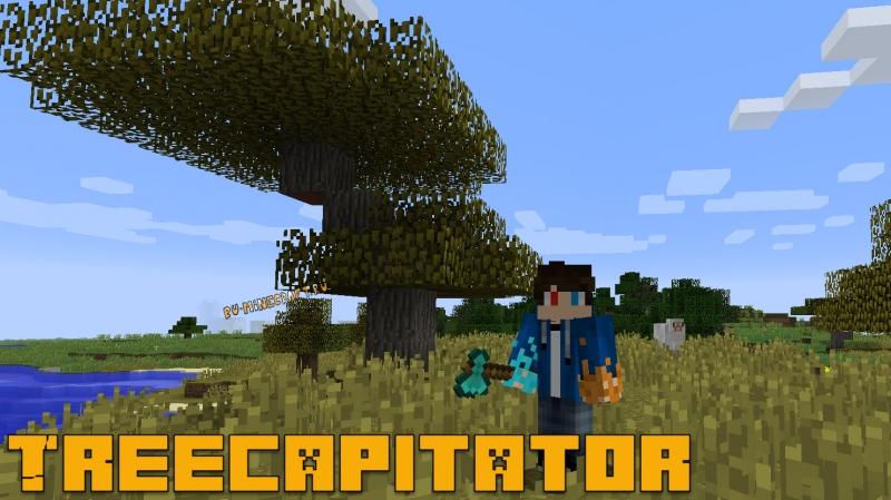TreeCapitator - трекапитейтор [1.15.2] [1.14.4] [1.12.2] [1.11.2] [1.10.2] [1.8.9] [1.7.10]