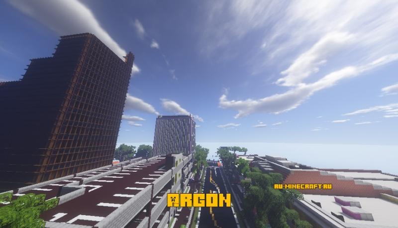 Argon - город + горы [1.16] [1.15.2]