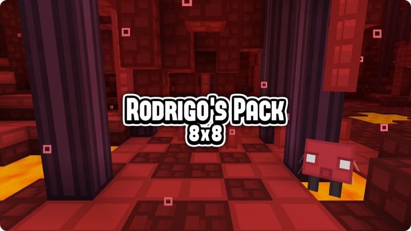 Rodrigo's Pack - мультяшные текстуры для слабых ПК [1.16.3] [1.15.2] [1.14.4] [1.12.2] [8x8]