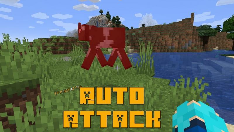 Auto Attack - читерная автоматическая атака [1.15.2] [1.12.2]