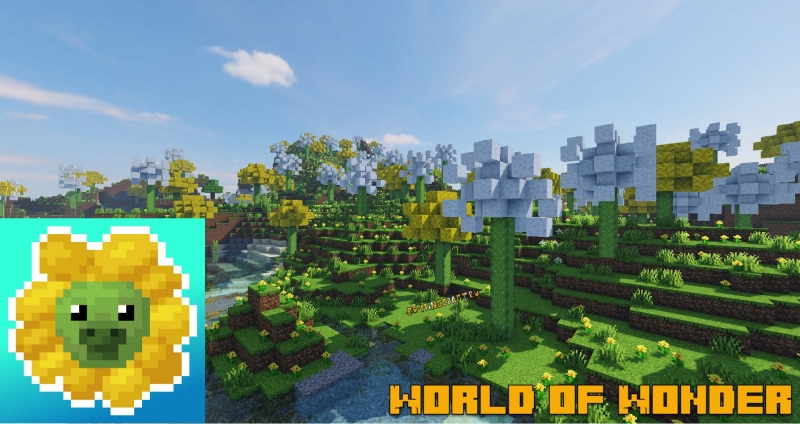 World of Wonder - биом одуванчиков [1.16.5] [1.15.2]