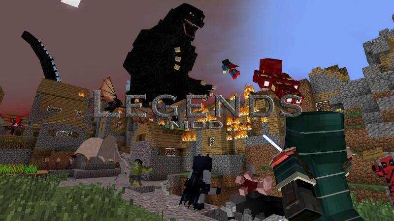 Legends Mod - легендс, мод на супер героев, джедаев, суперспособности [1.7.10]