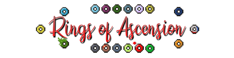 Rings of Ascension - кольца с крутыми способностями [1.17] [1.16.5] [1.15.2]