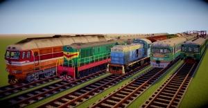 Matoi Vanilla Pack - текстуры Русских и Советских поездов для IR [1.12.2]