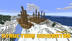 Structure Generator - генерируем структуры с помощью команды [1.15.2]