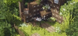 Cocricot — красивые винтажные текстуры [1.12.2] [1.10.2] [1.7.10] [32x]