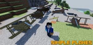Simple Planes - простые самолеты и вертолеты [1.17.1] [1.16.5] [1.15.2] [1.12.2]
