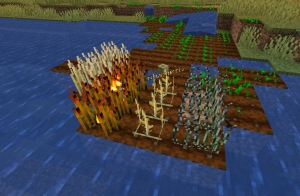 akkamaddi's Ashenwheat - новые полезные растения [1.16.5] [1.15.2] [1.14.4] [1.12.2] [1.11.2] [1.7.10]