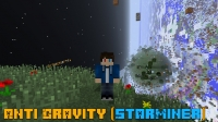 Anti Gravity (StarMiner) - стармайнер, мод на гравитацию [1.7.10] [1.6.4]