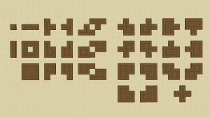 Connected Logs - соединённые стволы дерева [1.16.5] [1.15.2] [16px]