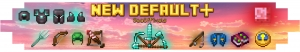 New Default+ - новый дефолт [1.16.4] [1.15.2] [1.14.4] [1.12.2] [1.7.10] [16x]