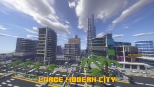 Large Modern City 1.0 - большой современный город [1.16] [1.15.2]