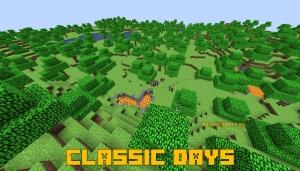 Classic Days - измерение c майнкрафтом альфа версии [1.15.2]