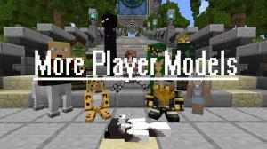 More Player Models - модель игрока [1.14.4] [1.12.2] [1.11.2] [1.10.2] [1.8.9] [1.7.10]