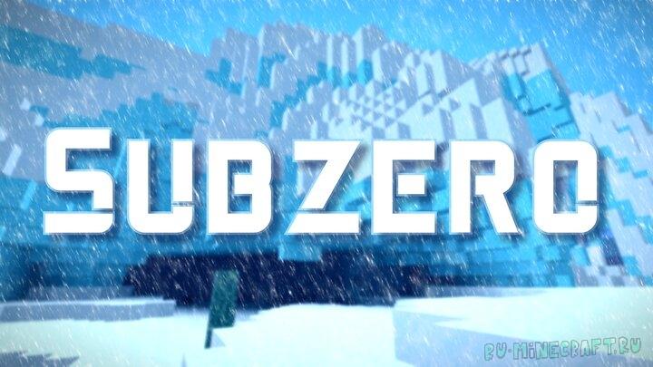 Subzero - winter pack - зимний майнкрафт [1.16.1] [1.15.2] [16x]